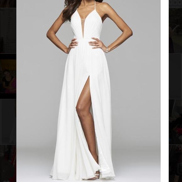 White Dress Size 6